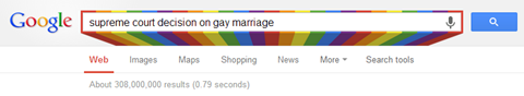 DOMA Decision Colors | Google
