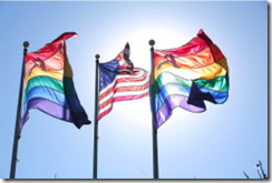 Flags Fly after DOMA Ruling
