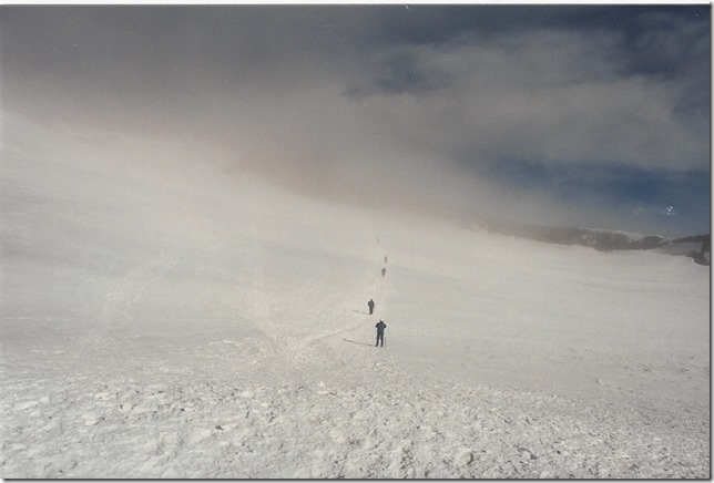 Crossing the Mt. Rainier Crater | 1995