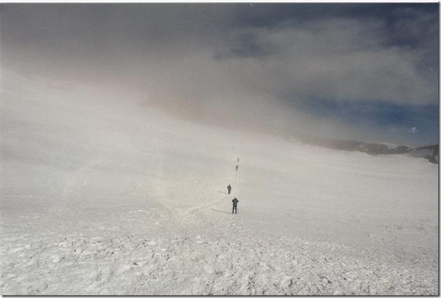 Crossing the Mt. Rainier Crater | 1995