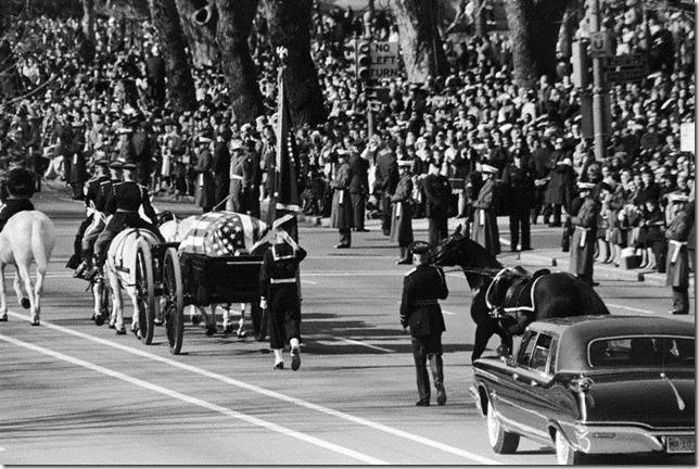 JFK Funeral Procession