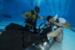 Sink or Float: Sailors Dive Training
