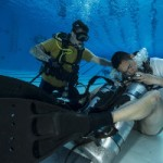 Sailors Dive Training