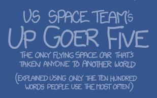 Up-Goer Five