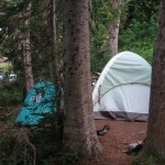 Seidl/Squires Camp, Indian Bar, Mt. Rainier -- August 7, 2012; 5:48 AM