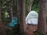 Seidl/Squires Camp, Indian Bar, Mt. Rainier -- August 7, 2012; 5:48 AM