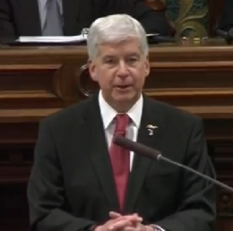 Gov. Rick Snyder Giving the MISOTS16 Address